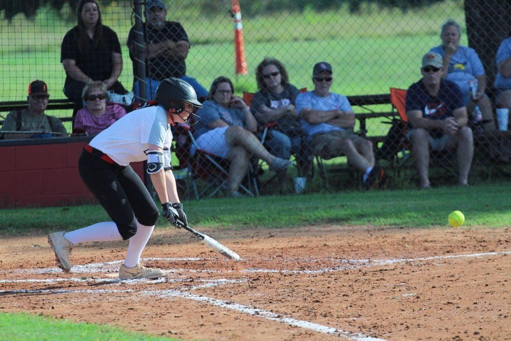 Luther Lion softball, Bolner bunts