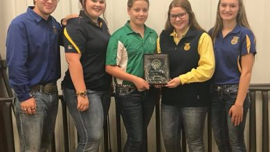 Luther FFA Livestock Team