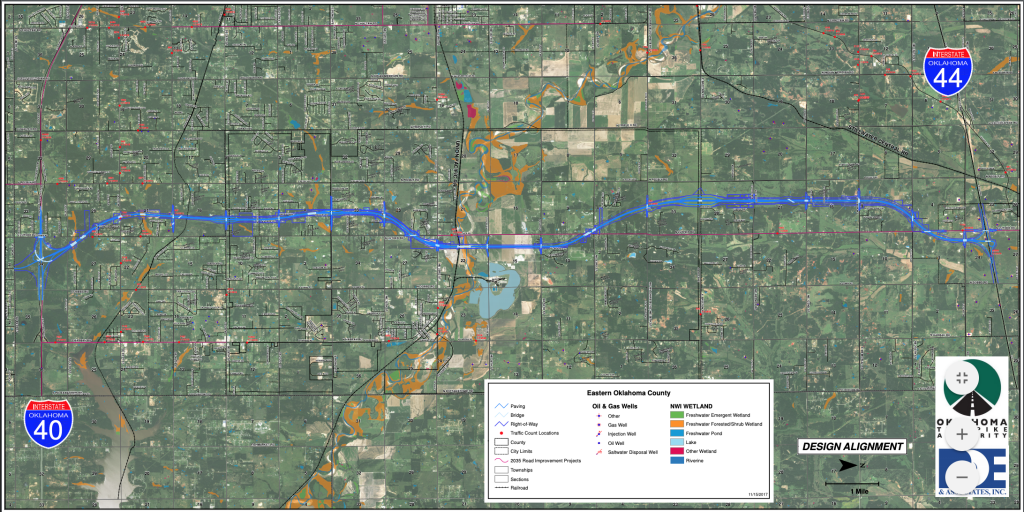 I 40 Oklahoma Map.Luther Bridge Is Coming Down Luther Register News