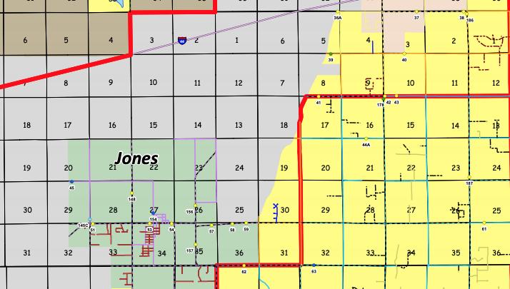 Unincorporated Oklahoma County