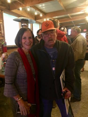 Kathy Wallis and Eddie Steffans
