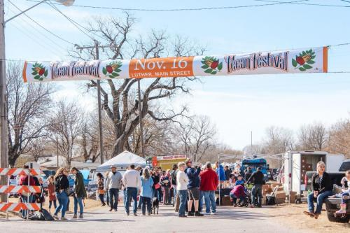 Luther Pecan Festival, photo by Megan Garrett