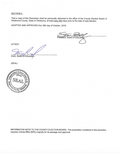 Page 3, Official Wording