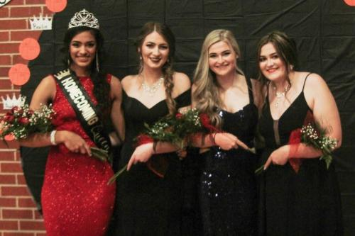 Queen and Candidates