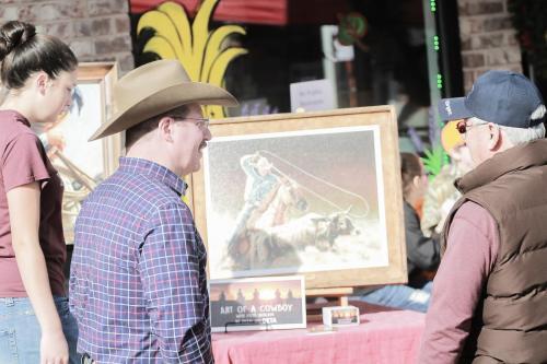 Cowboy Artist Steve Boaldin